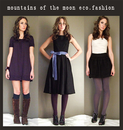 Fashion Clothing on Mountains Of The Moon Eco Fashion Organic   Eco Friendly Clothing  Eco